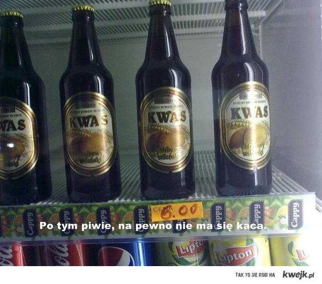 Po tym piwie, na pewno nie ma się kaca.