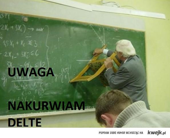 UWAGA NAKU**IAM DELTE