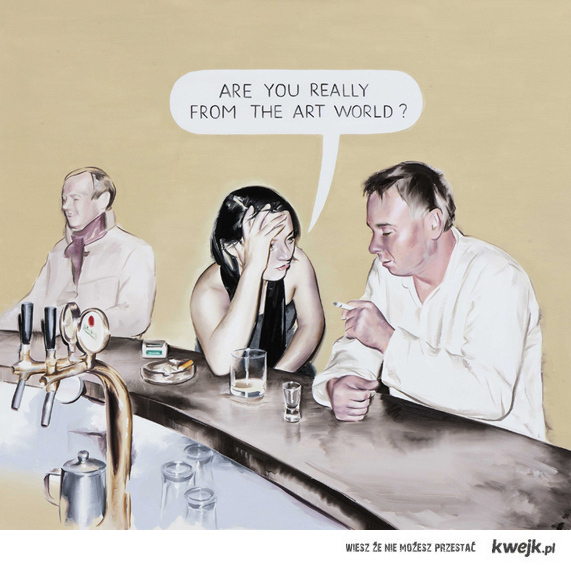 Are You Really from The Art World