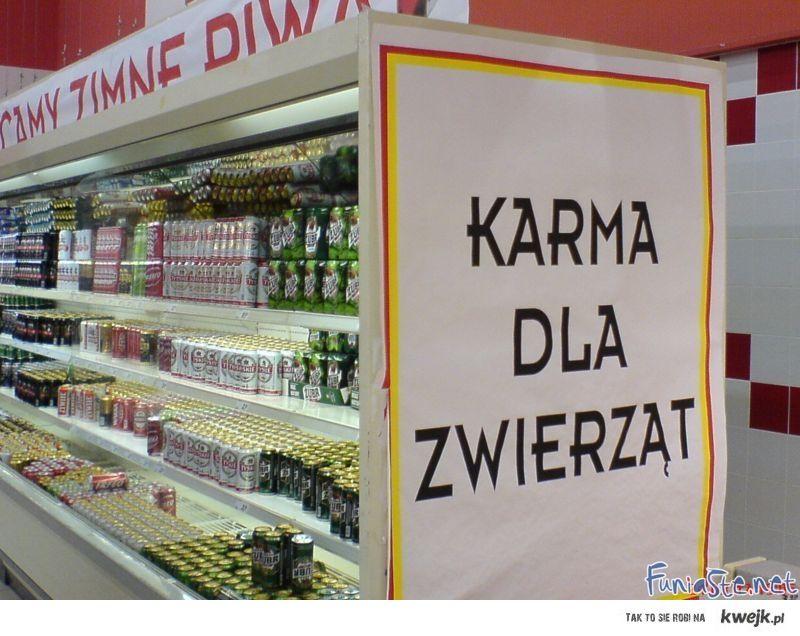 Karma dla zwierząt :D