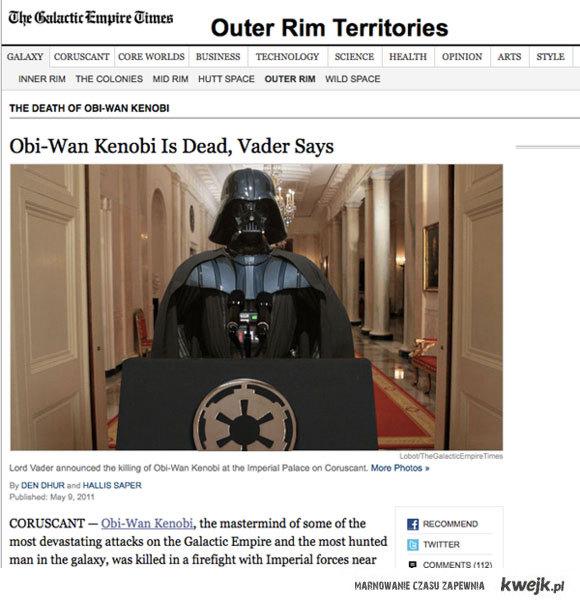 Obi Wan is dead