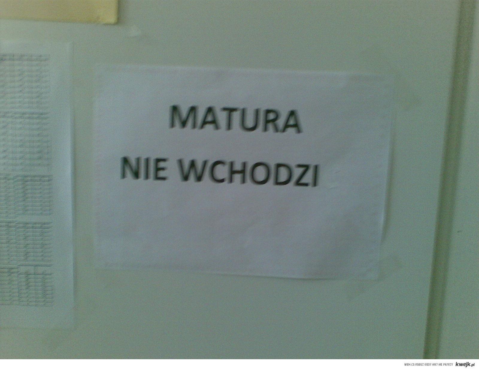 Pozdrawiamy przyszłorocznych maturzystów :)