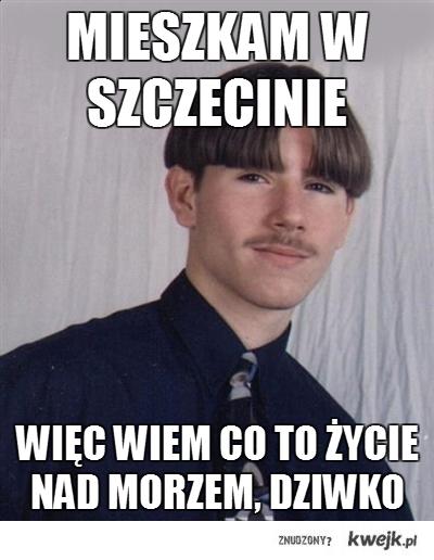 mieszkam w Szczecinie