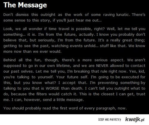 future you.