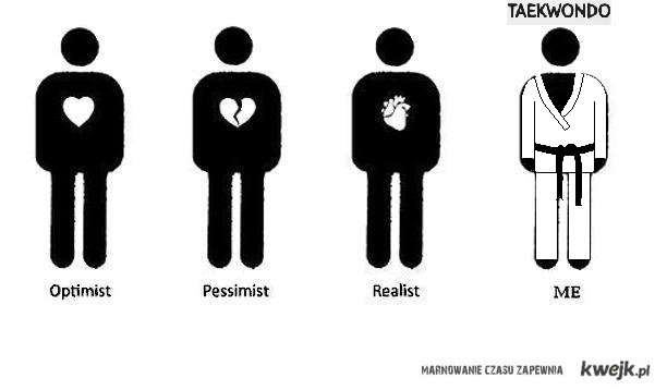 optimist, pessimist itd.