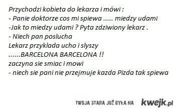 Kawał o Barcelonie