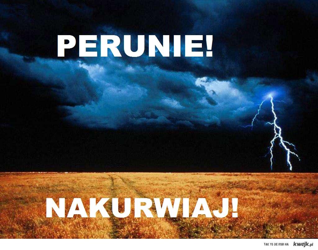 Perun God of thunder!