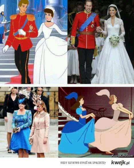 Disney vs Kate and William