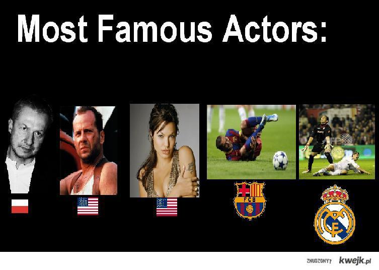 MostFamousAcotors