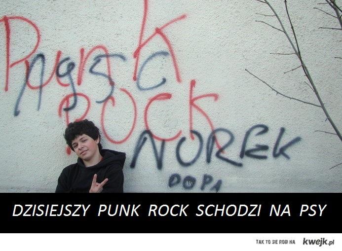 dzisiejszy punk rock schodzi na psy