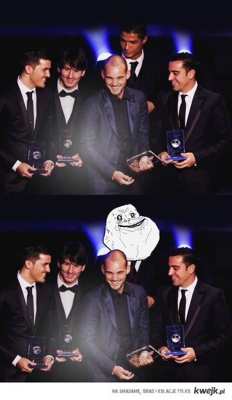 Ronaldo forever alone