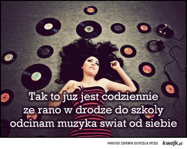 Słuchaj muzyki codziennie przed zajęciami!