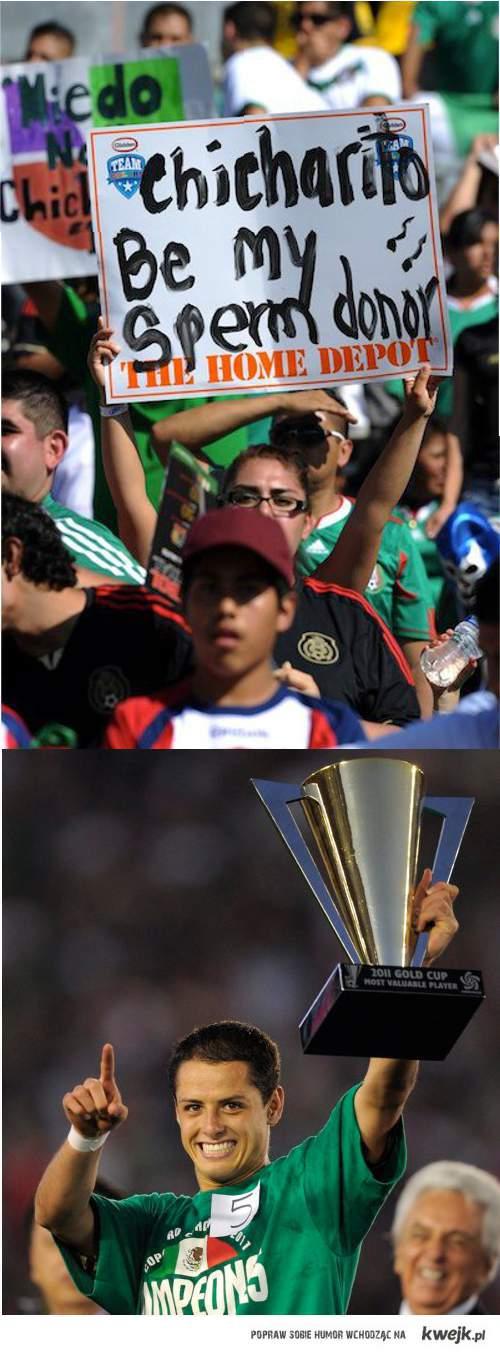 Chicharito Gold Cup