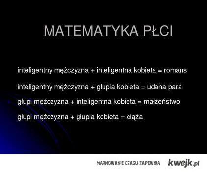 Matematyka plci