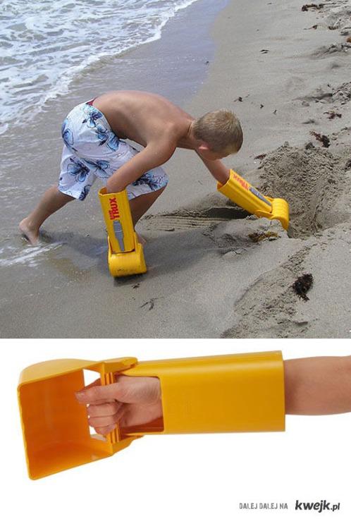 W sam raz na plażę!