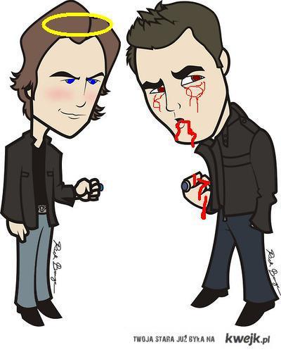 Damon&Stefan Salvatore