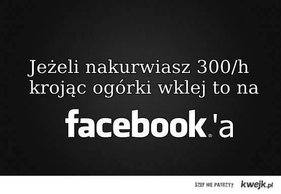jeżeli nakurwiasz 300/h krojąc ogórki wklej to na facebooka