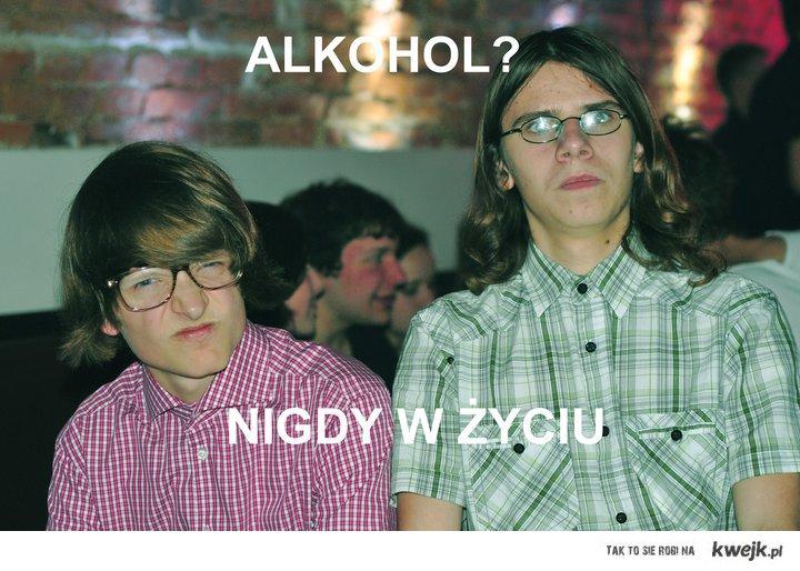 kulturalne przyjęcie bez alkoholu