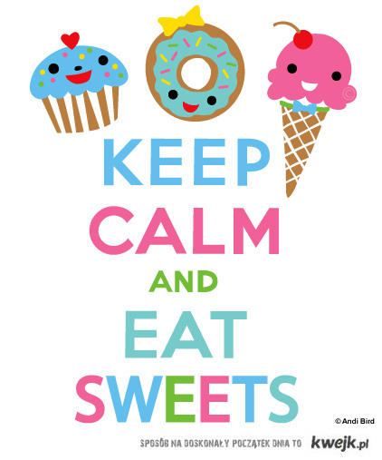eat sweets