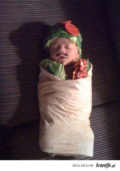 człowiek tortilla