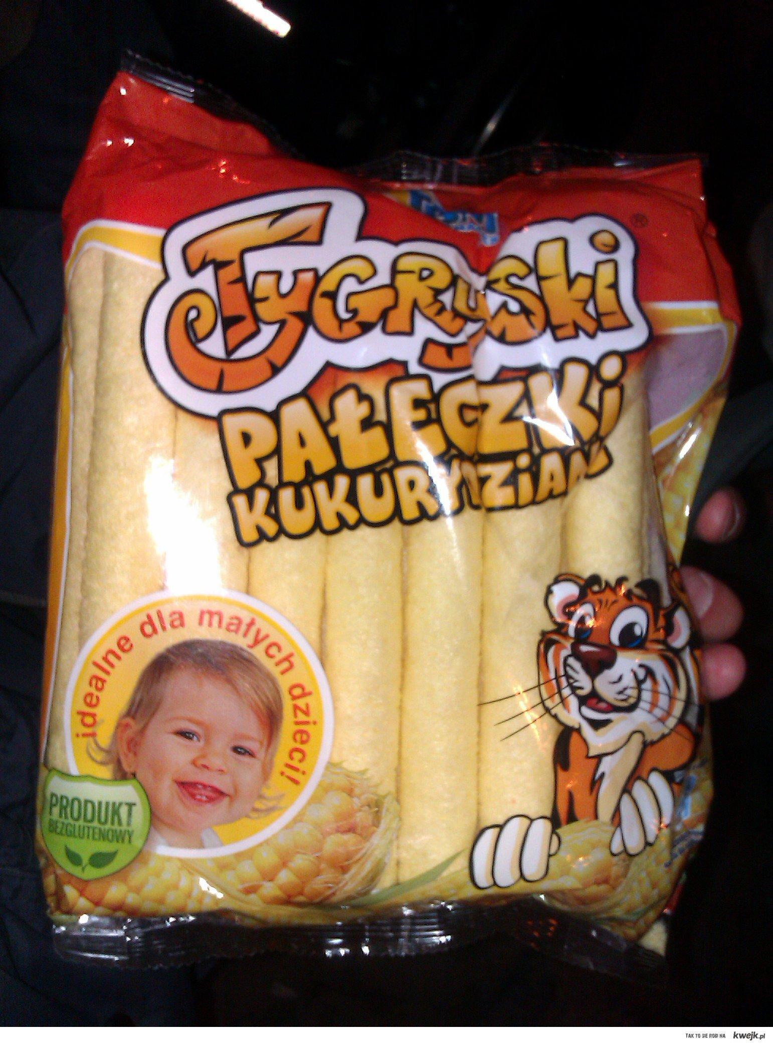 Pałeczki kukurydziane - idealne dla dzieci