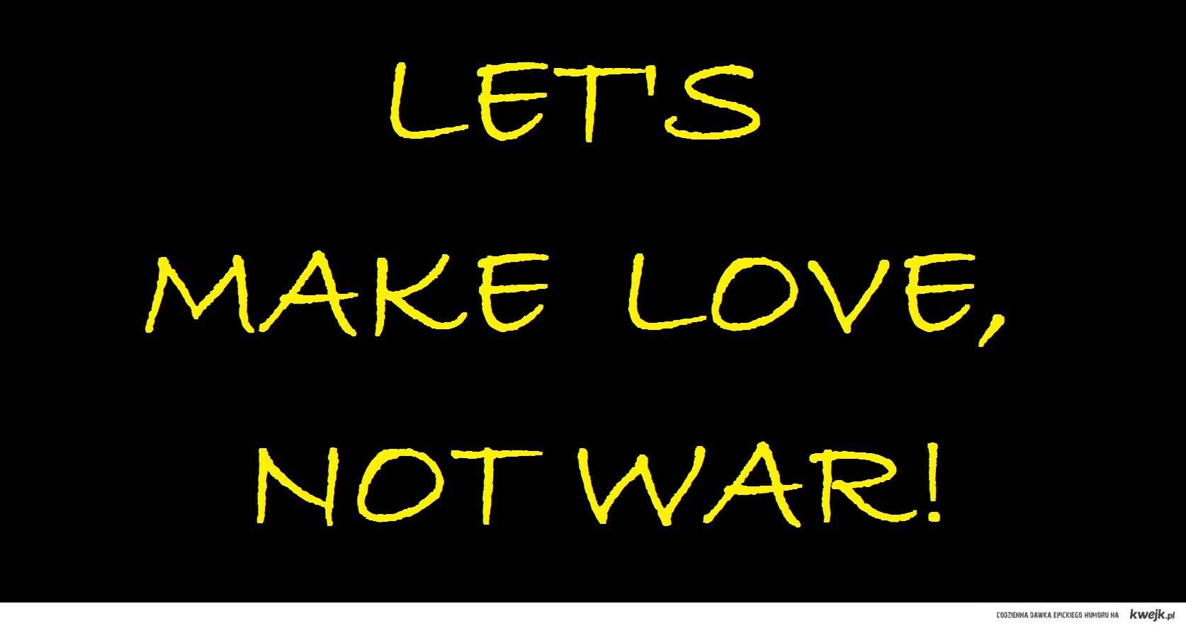 war is unnecessary
