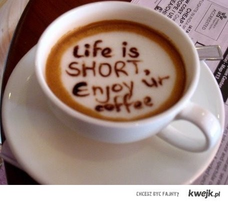 enjoy your coffee!