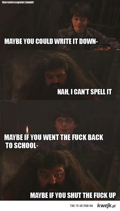 Hagrid i Harry