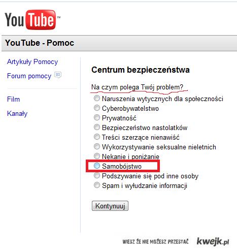 youtube ci pomoże