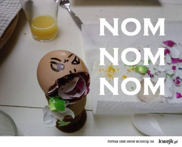 jajko uzależnione od jaj ...:(
