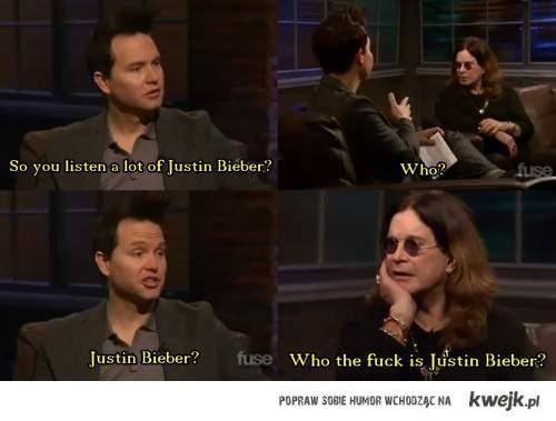 Who? Bieber?