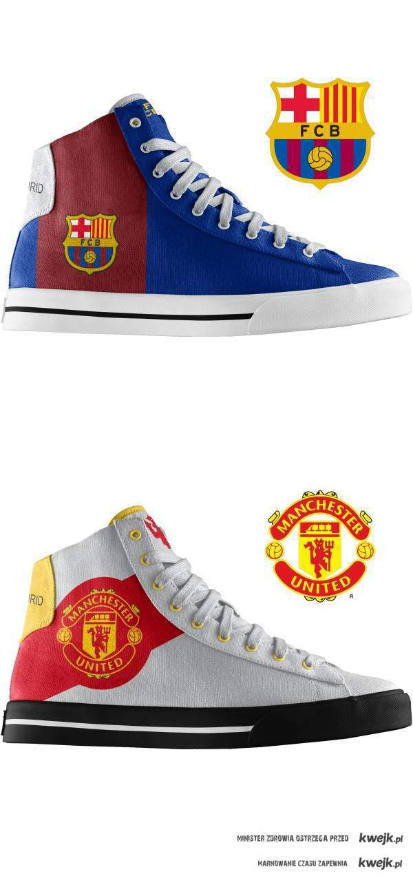 ManUtd & Barca shoes
