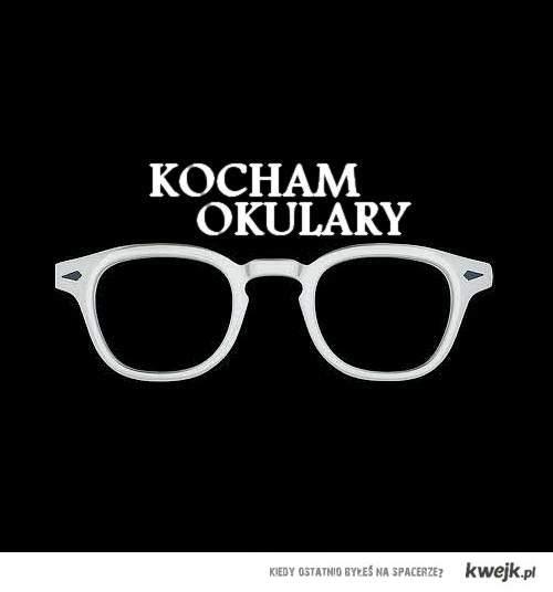 kocham okulary