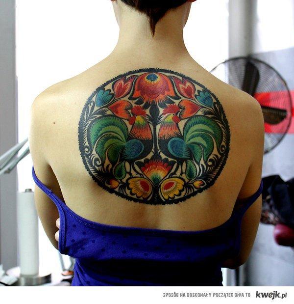 łowicki tatuaż