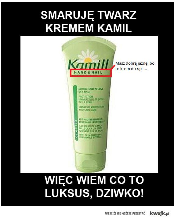 Krem Kamill.