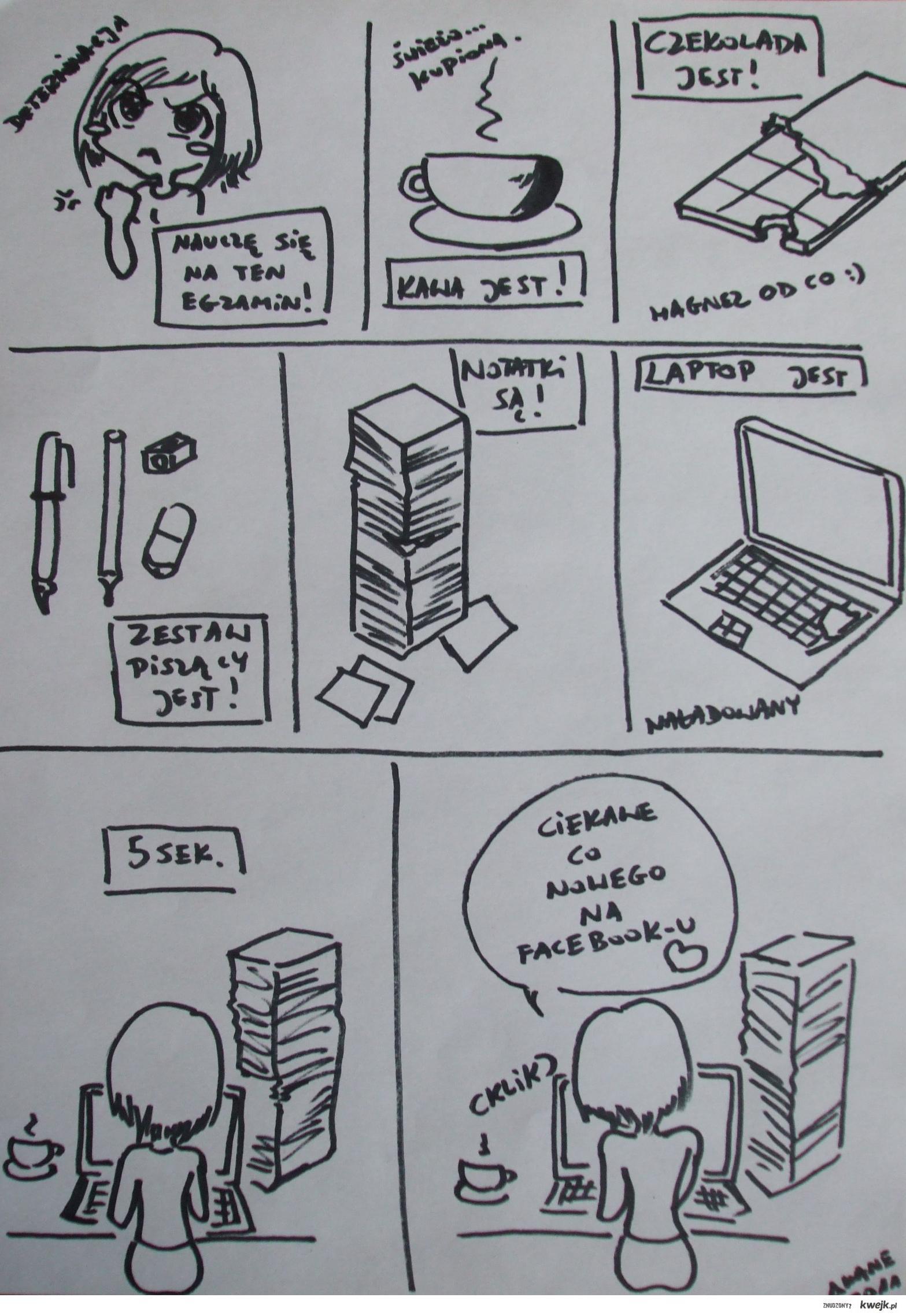 Z życia studenta wzięte