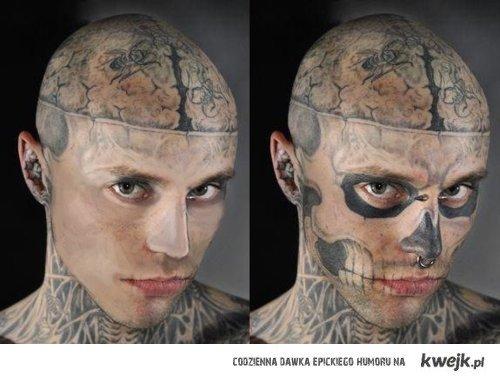 Rick Genest,Zombie Boy