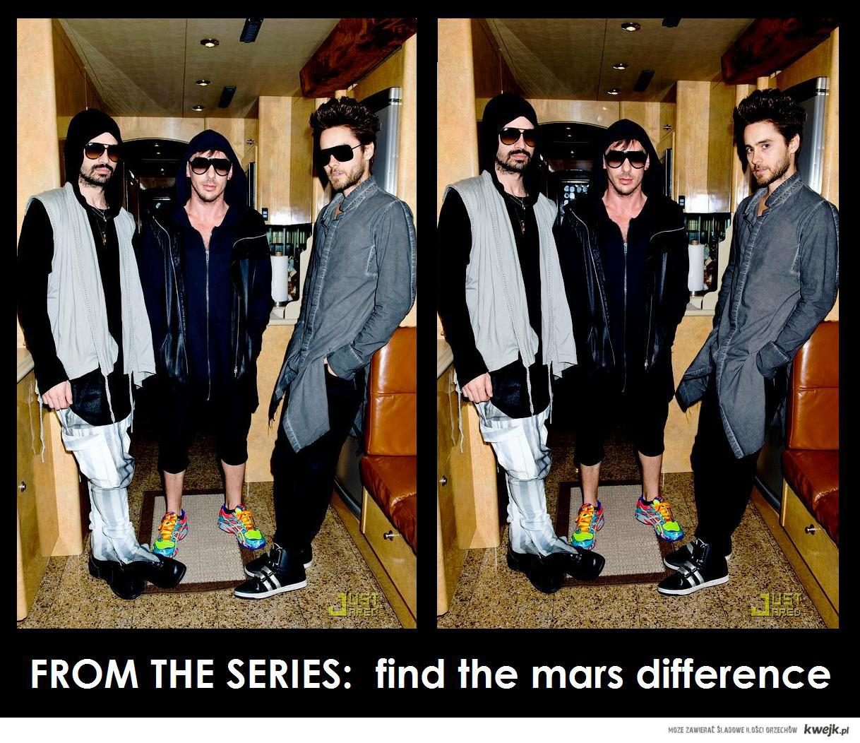 FROM THE SERIES:  find the mars difference