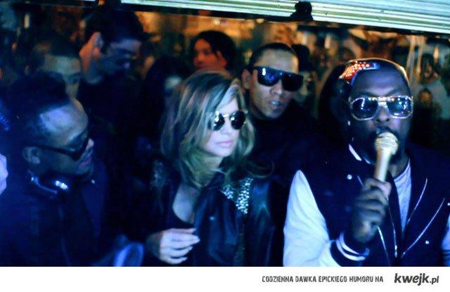 dziewczyno słuchaj Black Eyed Peas