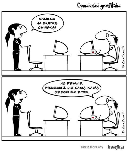 Opowieści Grafików - Zupka chińska