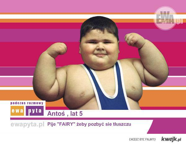 Antoś, lat 5