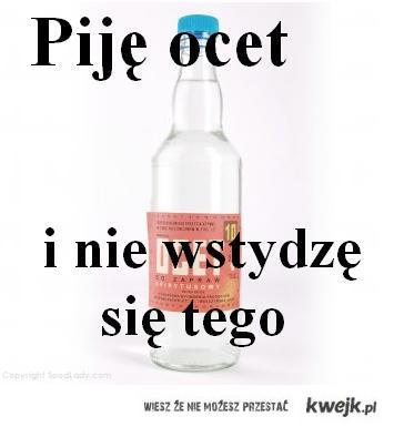 Piję ocet