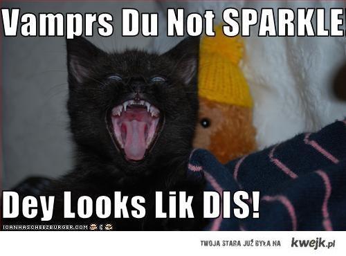 do not sparkle