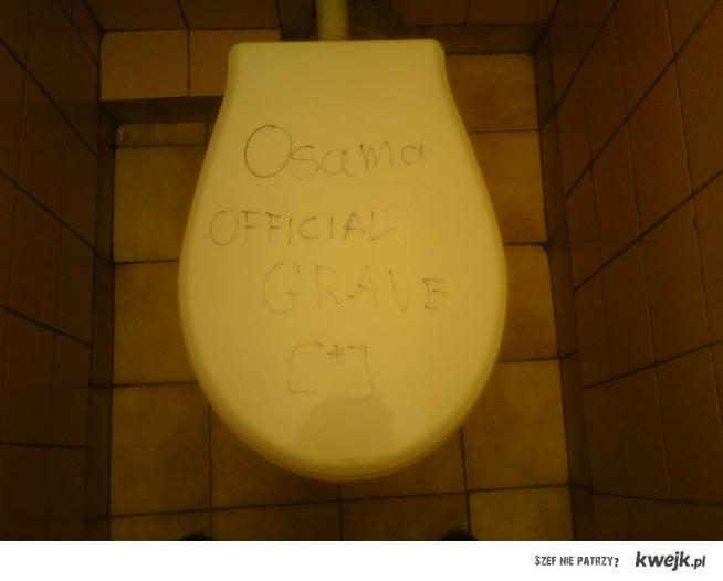Osama Grave