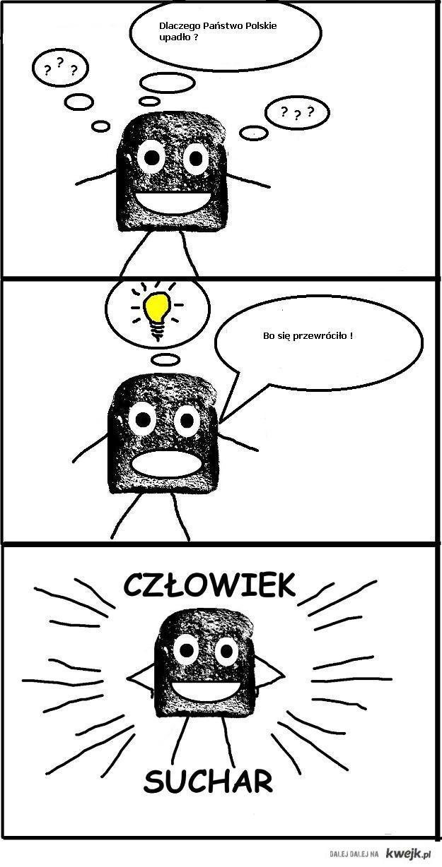 Człowiek suchar i polskie państwo