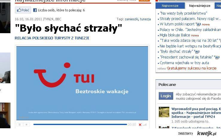 printscreen z tvn24.pl