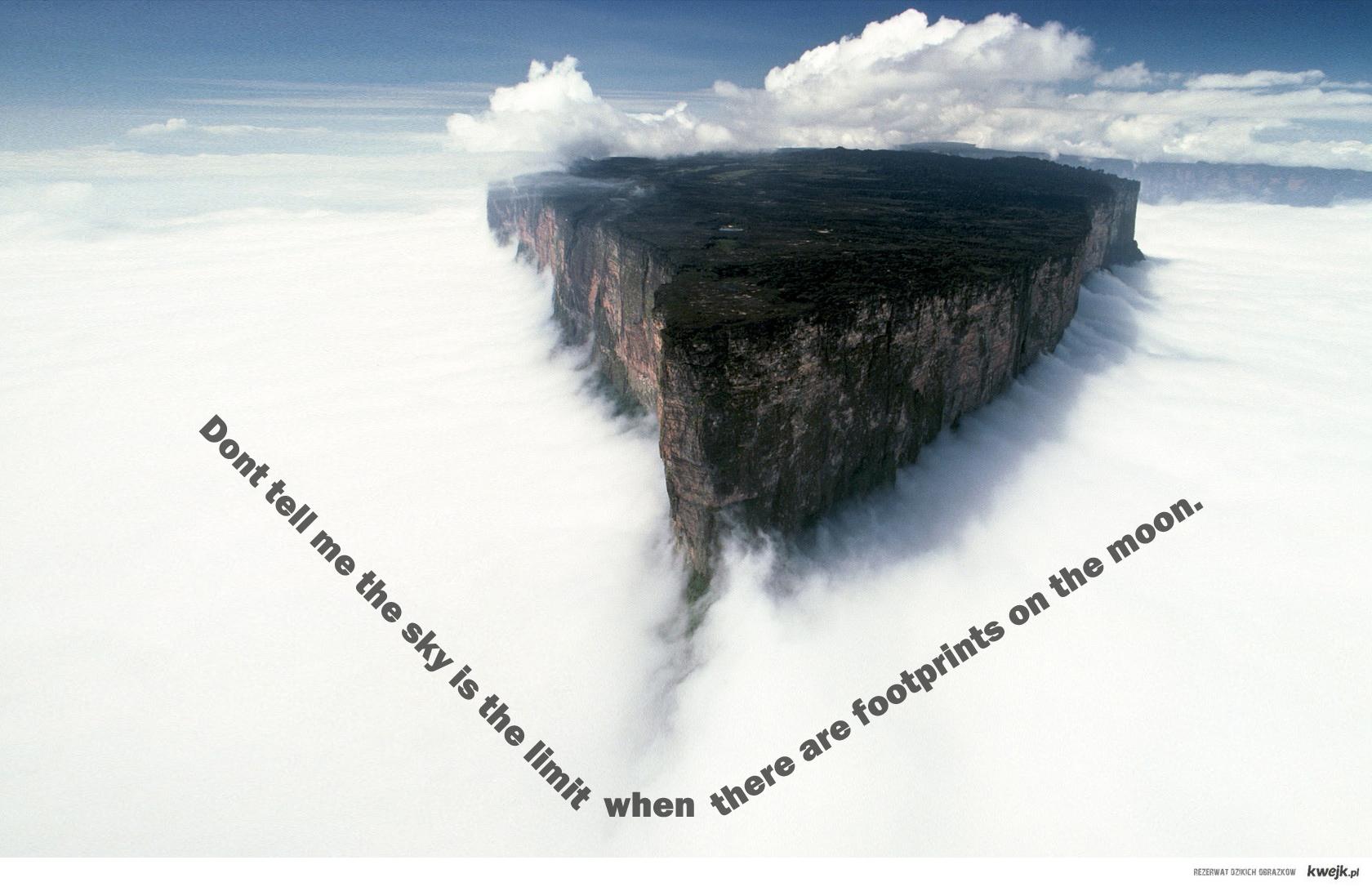 sky isn't the limit