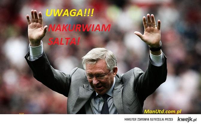 Sir Alex Ferguson!