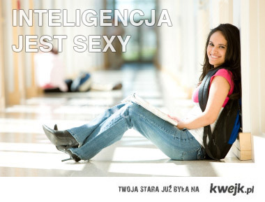 inteligencja jest sexy
