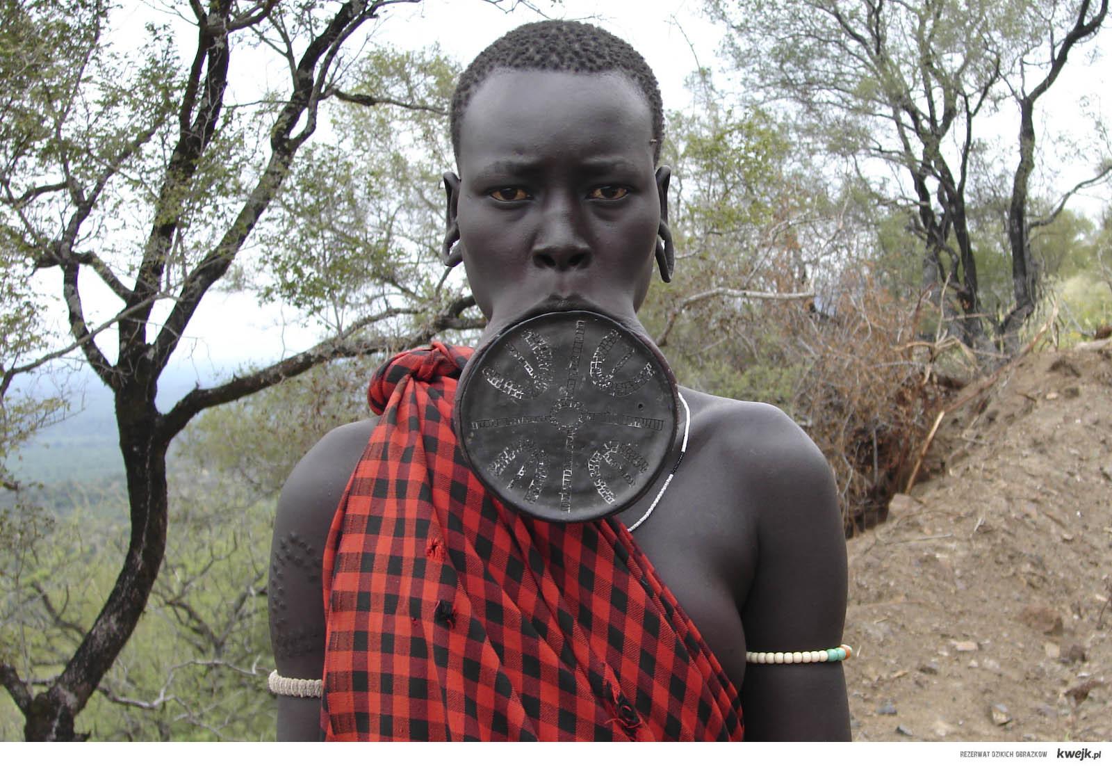 Mudżinka z Afryki